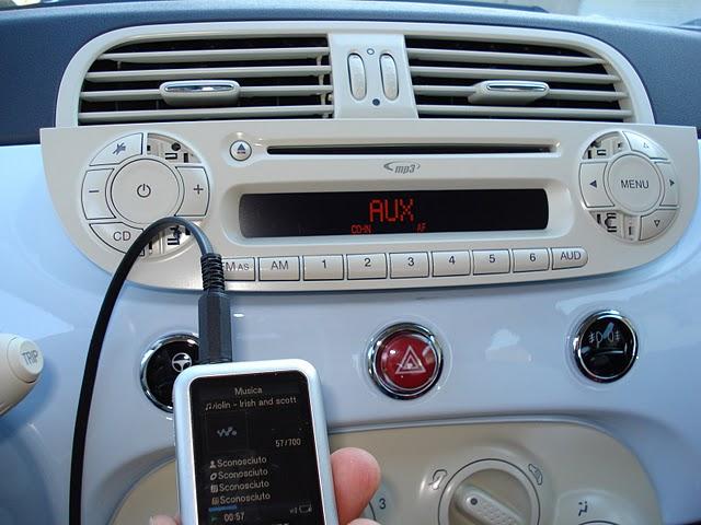 Installazione Cavo Aux Fiat 500