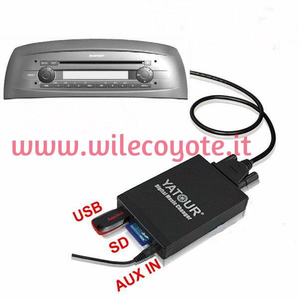 Schema Elettrico Usb : Schema elettrico autoradio blaupunkt fiat punto
